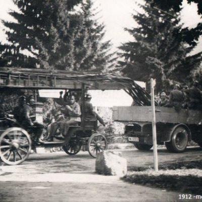 1912 - mech. Magirus-Leiter