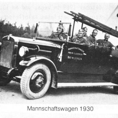 1930 Mannschaftswagen Magirus