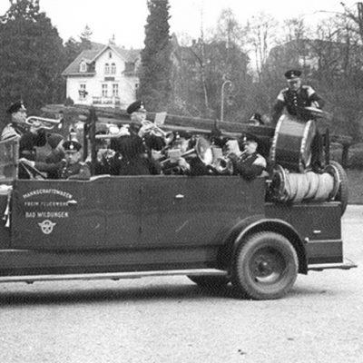 1936 Feuerwehrkapelle