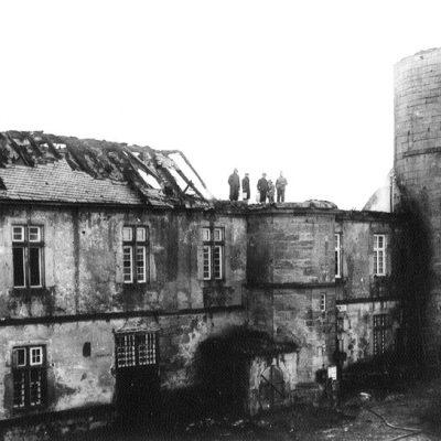 1940 Brand Schloss Waldeck