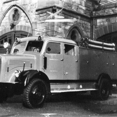 1956 – Tanklöschfahrzeug im Dienst