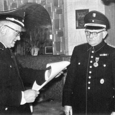 1966 - Ehrung Kam. Erwin Lorenz