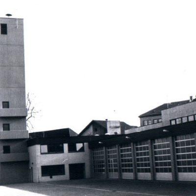 1977 - Fertigstellung Stützpunkt/Laustr.