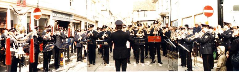 1986 - Musikzug in Safron Walden