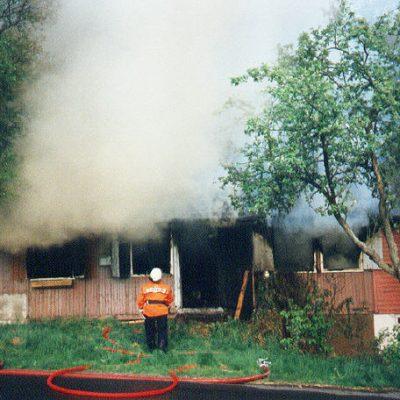 1992 - Brand in Reitzenhagen