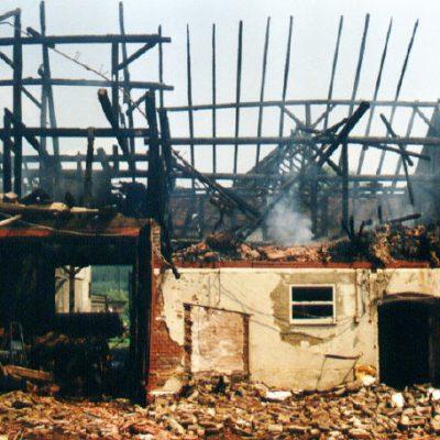 1995 - Brand Scheune Armsfeld