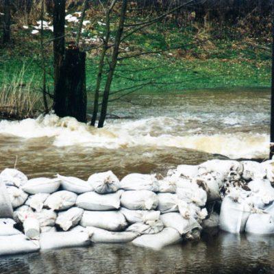 1995 - Hochwasser