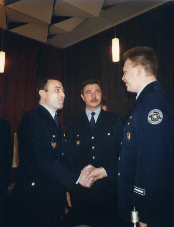 1995 - Wehrführer Frank Volke