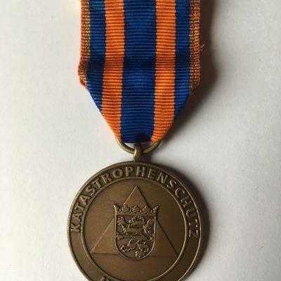 Bronzene Katastrophenschutz-Medaille