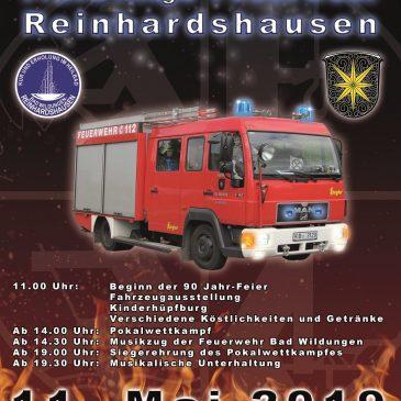 90 Jahre Feuerwehr Reinhardshausen