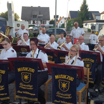 Musikzug in Löhlbach