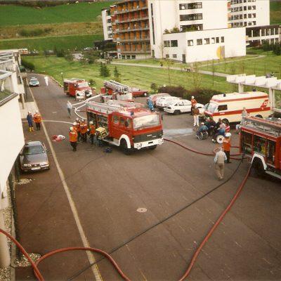 1994 - Saunabrand Werner-Wicker-Klinik