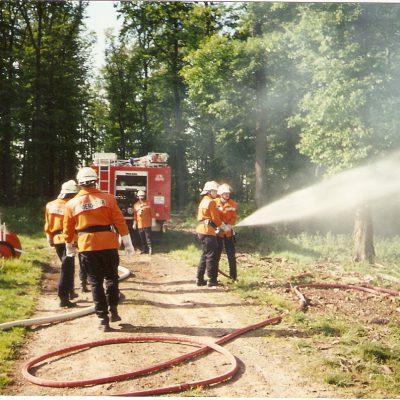 1995 - Waldbrandübung