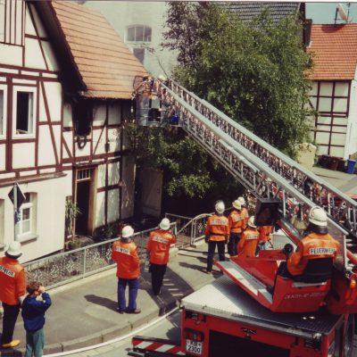 1995 - Wohnungsbrand in Mandern