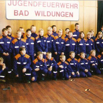 1996 - Gründung Jugendfeuerwehr