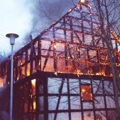 1997 - Scheunenbrand