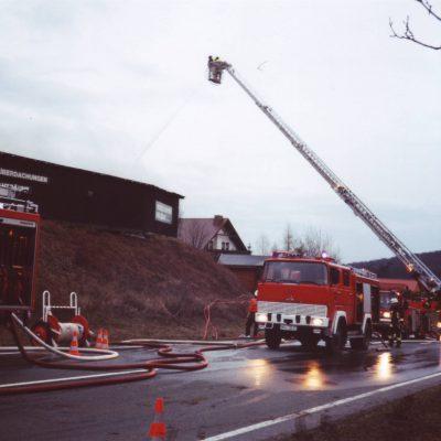 1999 - Brand Hundsdorfer Holzbau