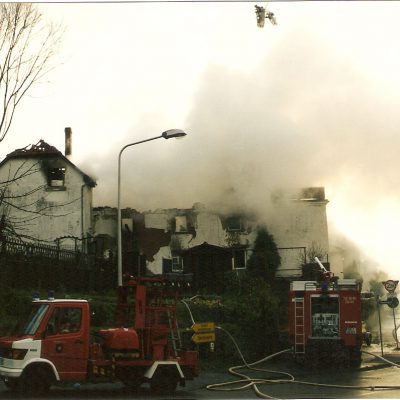 2002 - Brand Schloßstraße