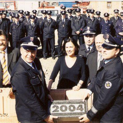 2004 - Grundsteinlegung