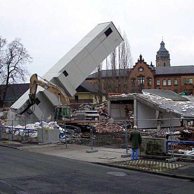 2005 - Abriss Schlauchturm