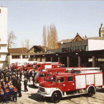 2005 - Umzug ins neue Feuerwehrhaus