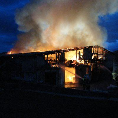 2008 - Scheunenbrand in Reinhardshausen