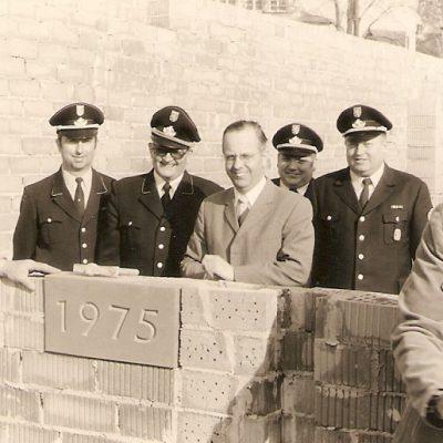 Grundsteinlegung 1975