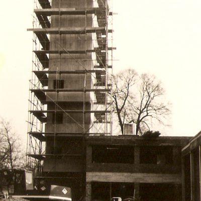 Bauarbeiten 1976