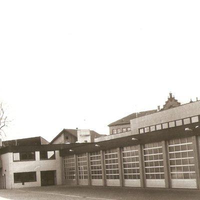 Feuerwehrhaus in Jahr 1977
