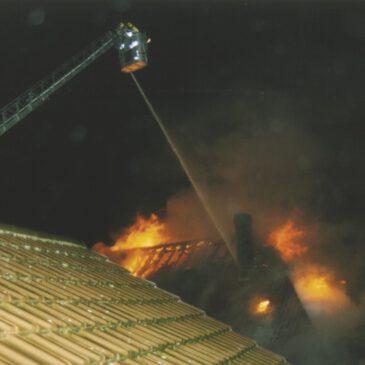 Brand in der Schloßstraße am 10.11.2002