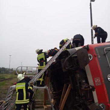 Übung Bahnunfälle